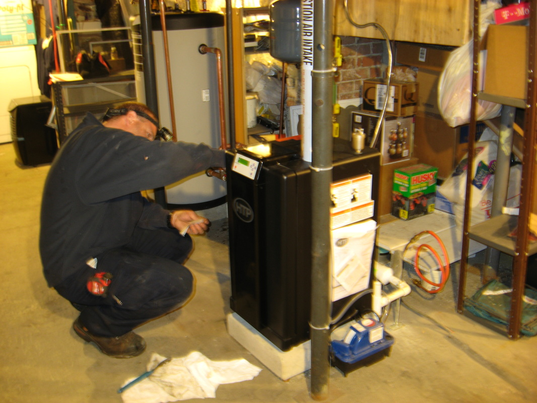 Gasp new heating system at the convent franciscan for New heating system